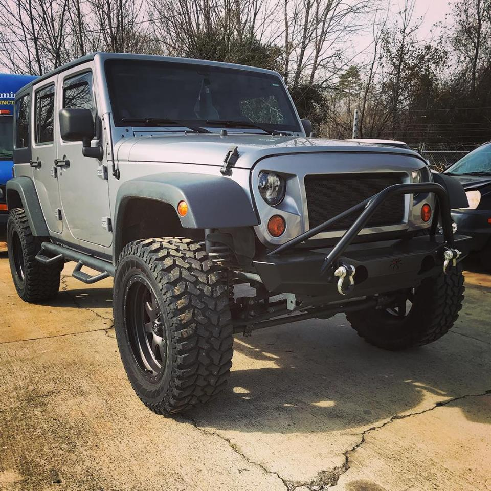 Jeep Lift kit installation Charlotte, NC