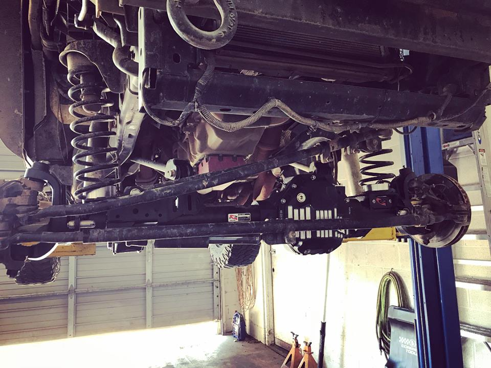 core 44 axle installation